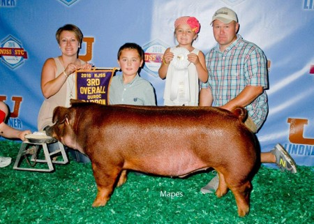 3rd Overall Duroc Barrow