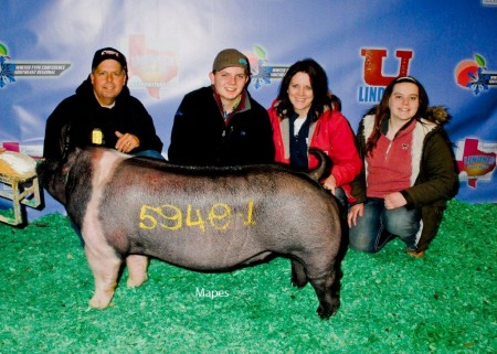 Class Winning Hampshire Gilt - 17 WTC - The Game - sb Coy Walker - bb Cody & Samantha Smith
