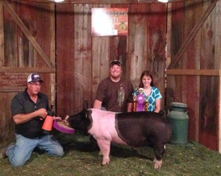 Grand Champion Overall Barrow