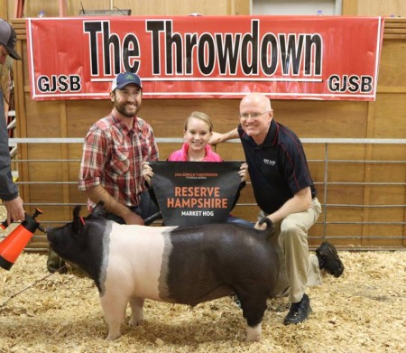 Res Champion Hamp - 17 Sunglo Throwdown, GA - blue sky - bb Kyle Pittman - sb Emmie Lynn