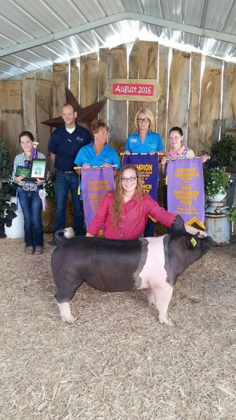 Reserve Grand Champion Overall