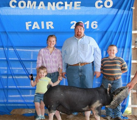 Reserve Grand Champion Overall Market Hog