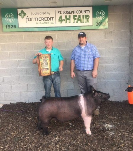 4th Overall Barrow and Reserve Champion Hampshire