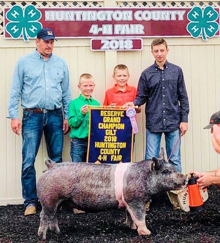 Reserve Grand Overall and Champion Cross Gilt